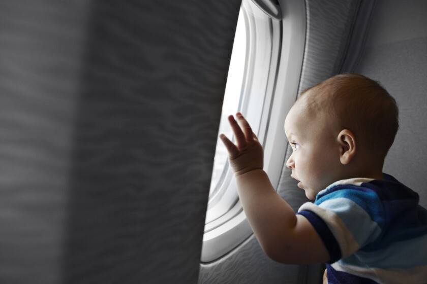 The rules for bringing a baby along for international travel are more complicated and can create extra expense.