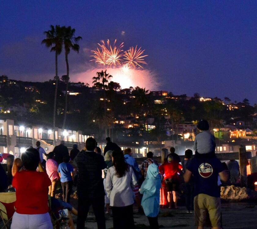 La Jolla's July 4th Fireworks organizers say the festivities will be canceled in 2018, due to a lack of funding.