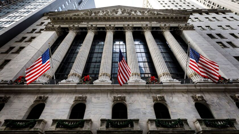 New York Stock Exchange, USA - 03 Jan 2019