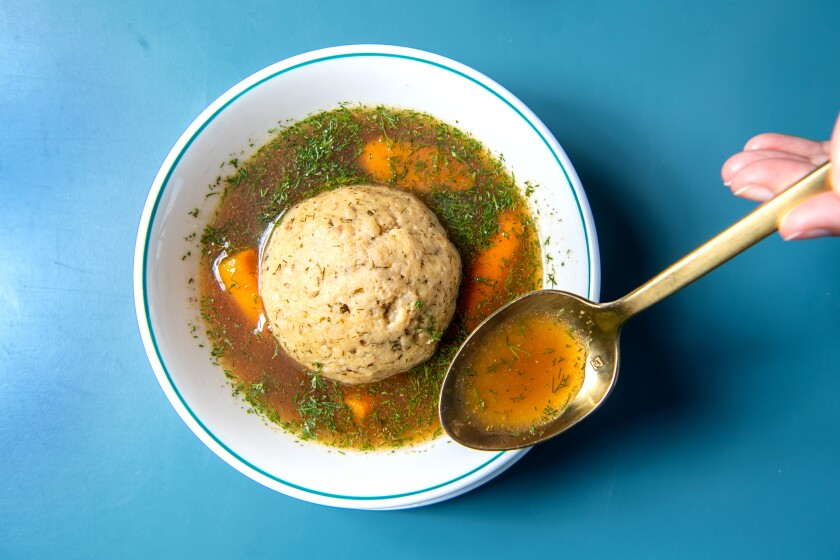 Birdie G's matzo ball soup