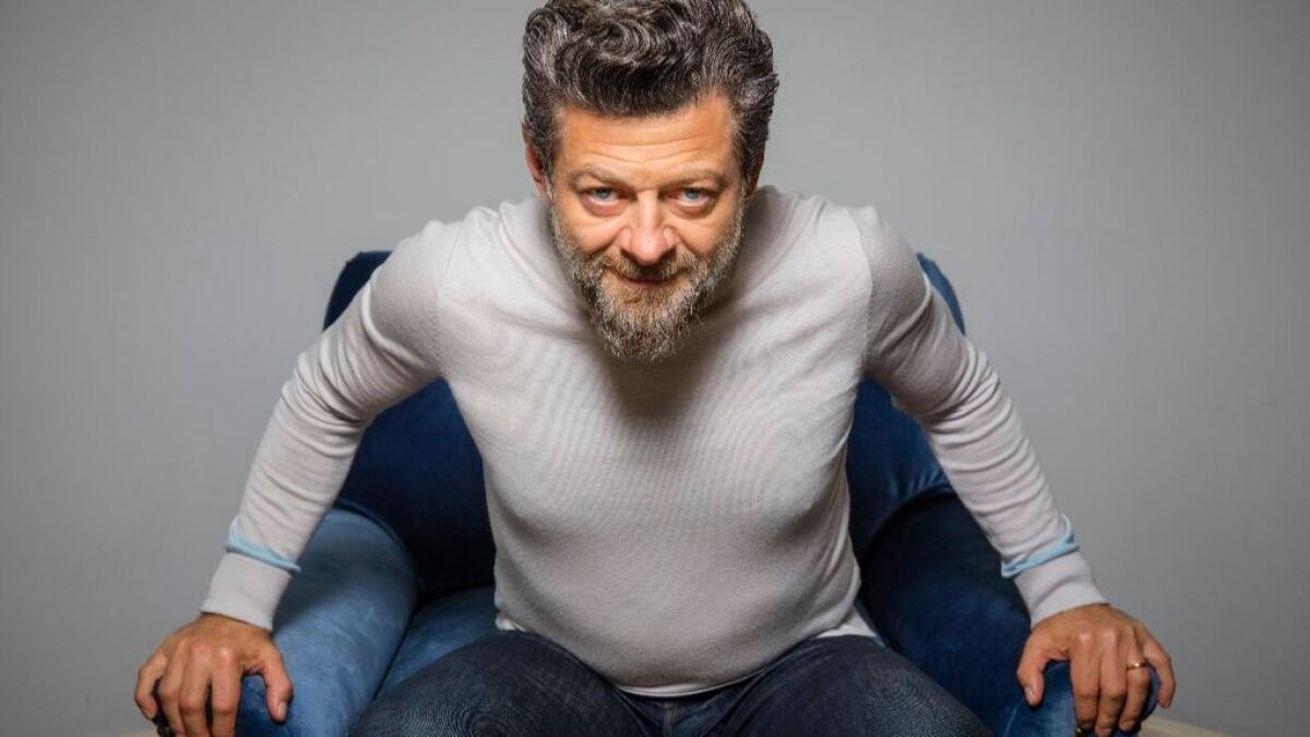 The Best Andy Serkis Beard  Pictures