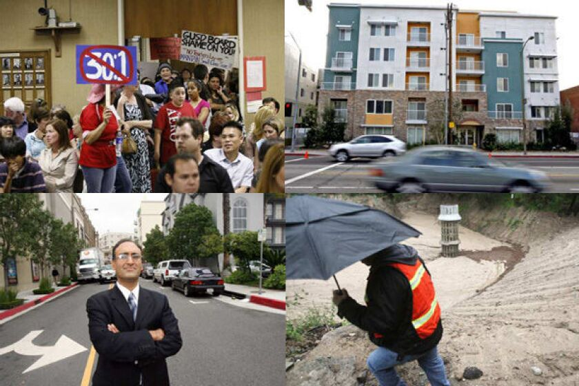 Some of the stories to look for in 2011: possible teacher layoffs; the ongoing investigation into ADI; Ray Patel's battle with the Americana; and further evacuations in the foothills.