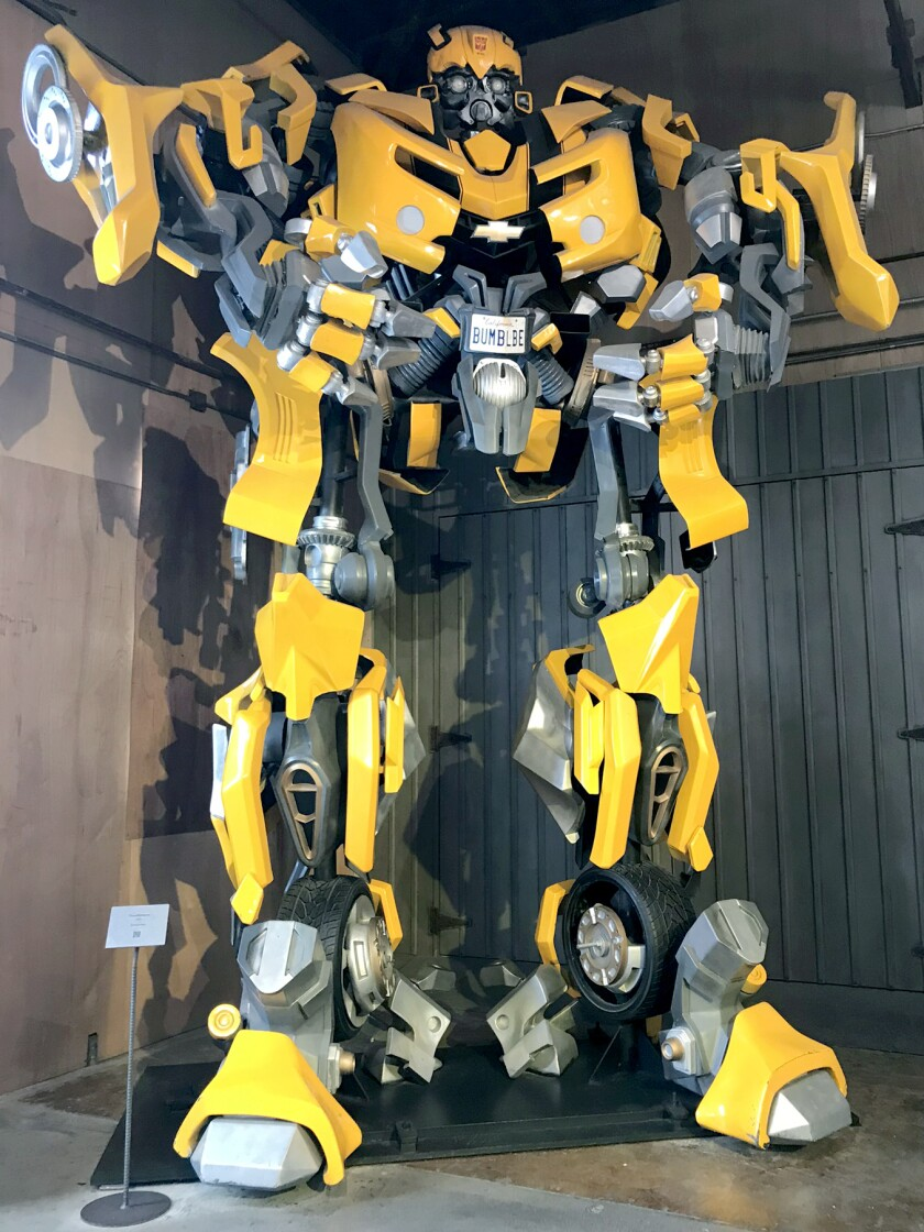 """A Bumblebee Autobot prop from """"Transformers"""""""