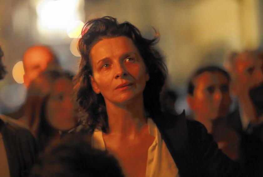 """Juliette Binoche in """"The Wait."""""""