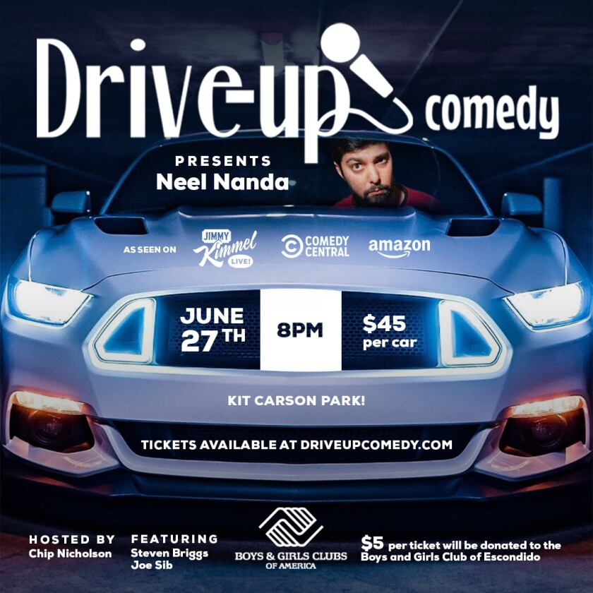 Drive-Up Comedy poster.