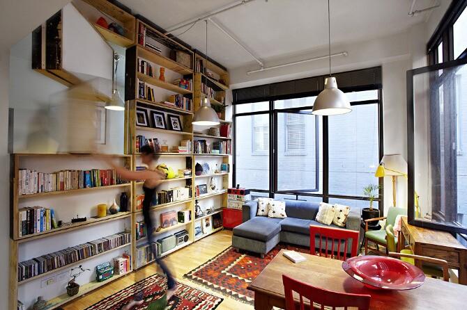 The UnWaste Revolving bookcase