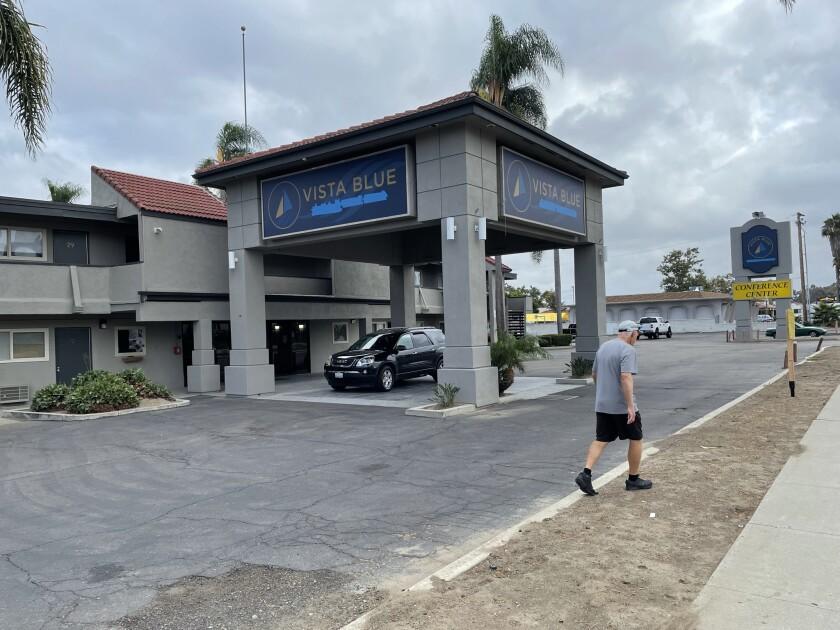 Vista Blue on Mission Avenue in Oceanside.