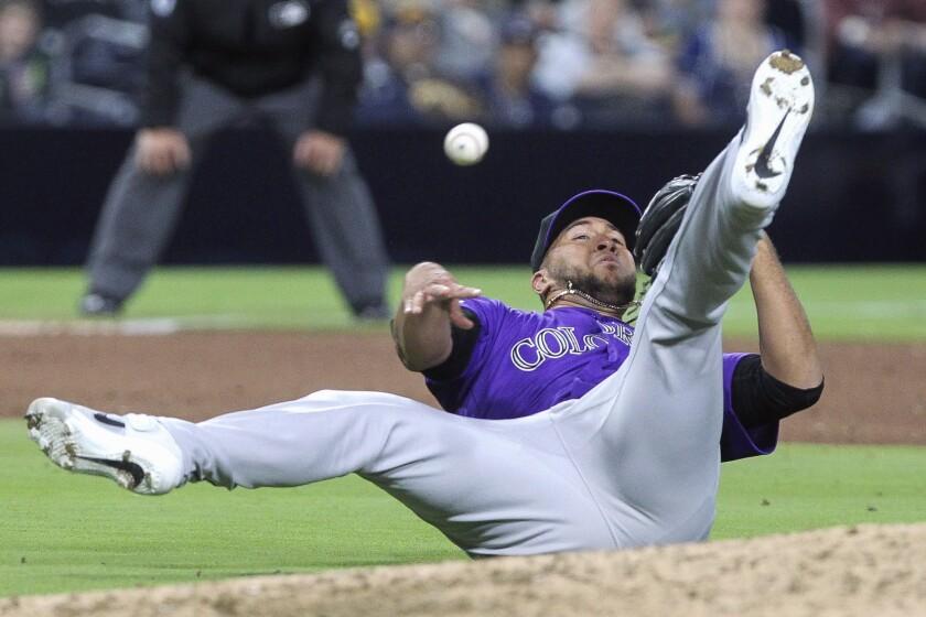 Padres vs. Rockies 04/16/19