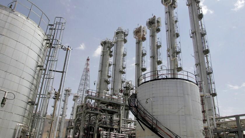 Iran's reactor site in Arak, south of Tehran.