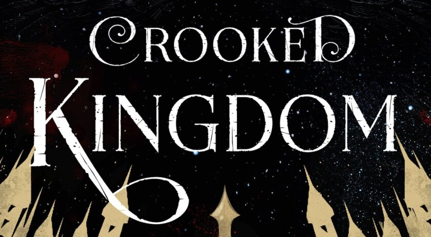 """First look at Leigh Bardugo's """"Crooked Kingdom"""" cover."""