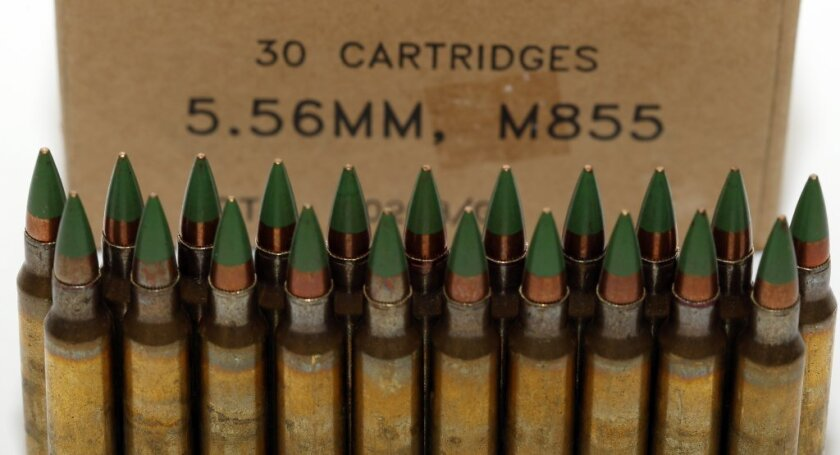 The Bureau of Alcohol, Tobacco, Firearms and Explosives has dropped its proposal to ban M855 green tip rounds with certain types of metal cores.