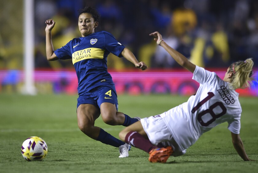Boca Juniors v Lanús - Women's First Division