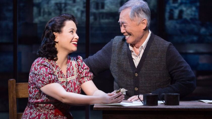 "George Takei's Broadway musical ""Allegiance"""