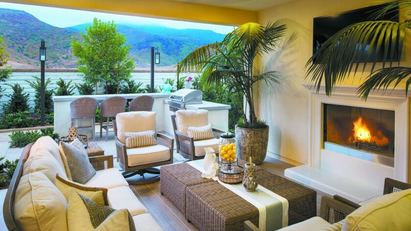 Westerly model homes at Rancho Tesoro Cal West Communities