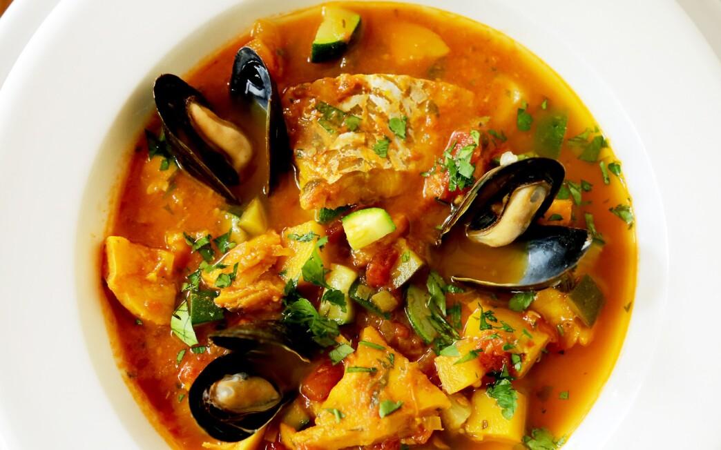 Provencal fish chowder