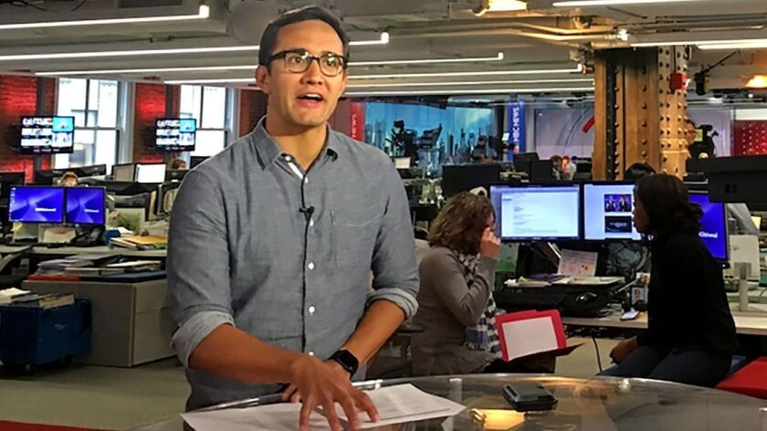 """NBC News recently began production on """"Stay Tuned,"""" a twice-daily newscast produced exclusively"""