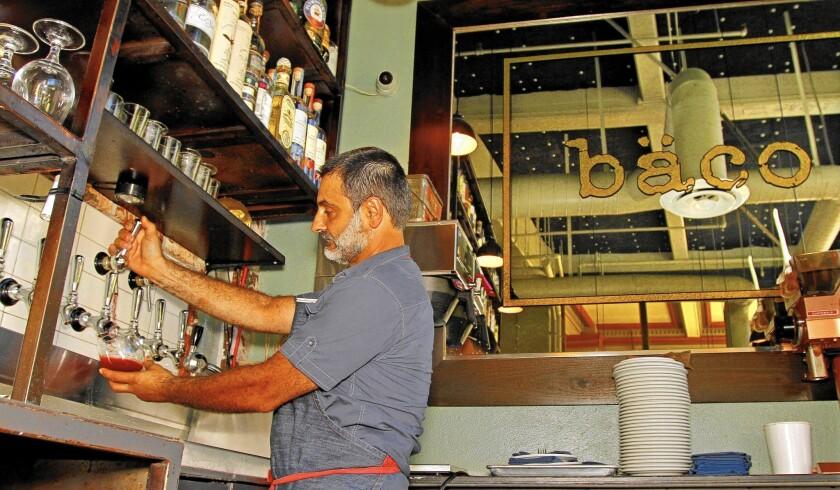 Wine in kegs is an idea barreling into more restaurants