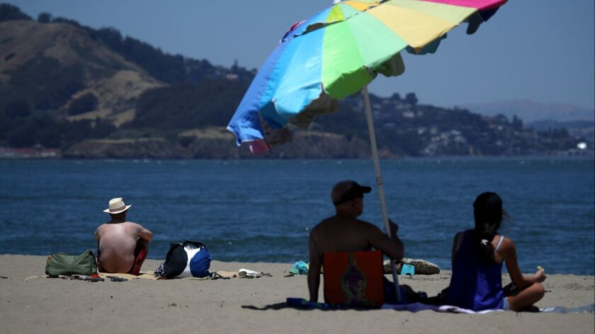 Record Breaking Heat Wave Drives Temperatures Into The 100's Around Bay Area