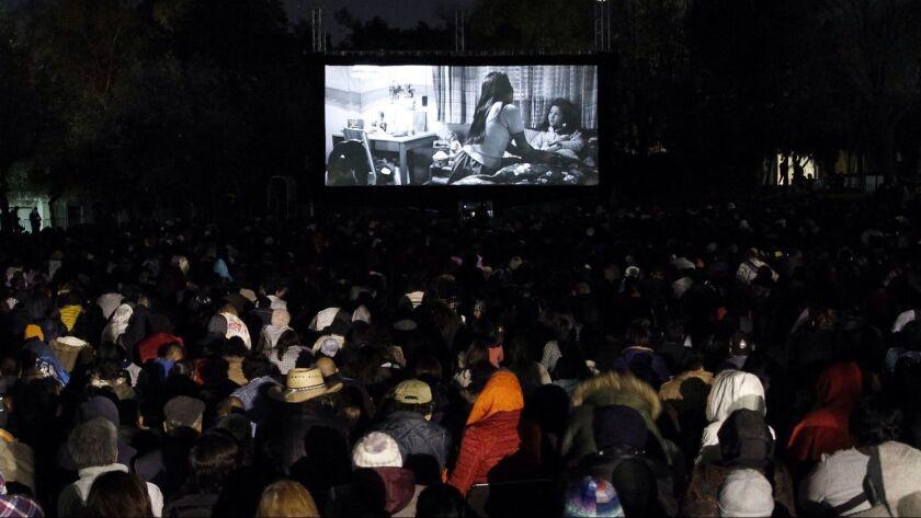 Screening of the film 'Roma'