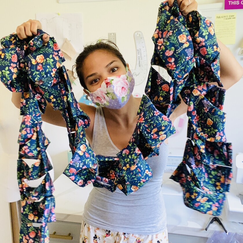 San Diego Swimwear Designer Shifts Focus To Make Face Masks Pacific San Diego