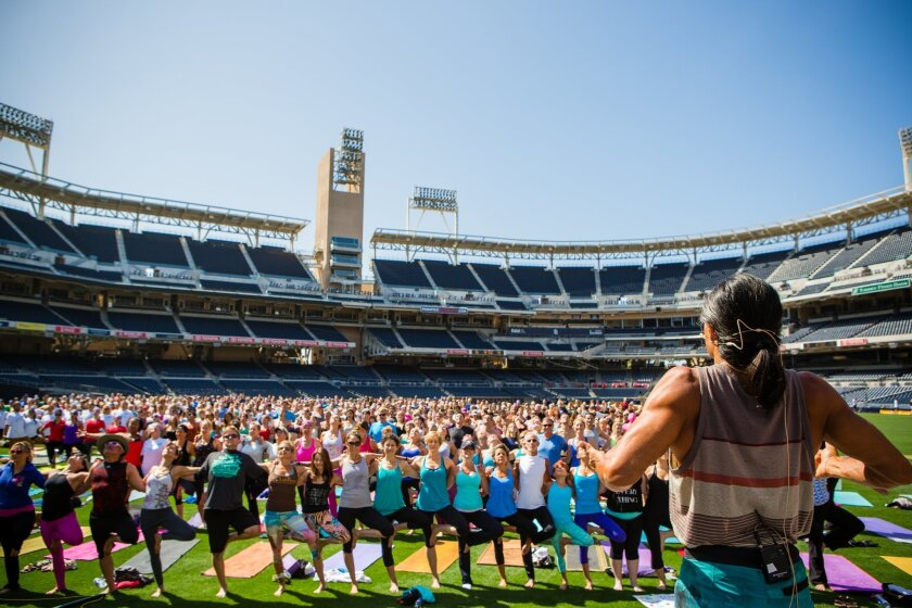 Close to 700 people attended City of Hope's Yoga for Hope last year.