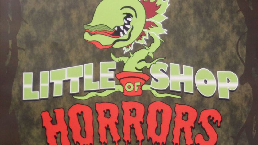 'Little Shop of Horrors' will be on stage March 10-11 and March 17-18 at La Jolla High School.