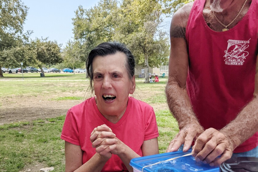 In August, Karen Sydow and brother Erik Sydow enjoyed a picnic at Lake Balboa Park in the San Fernando Valley. It was their final time together.