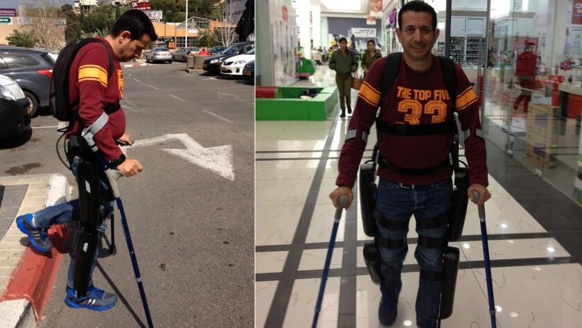 FDA clears device that lets paraplegics walk again