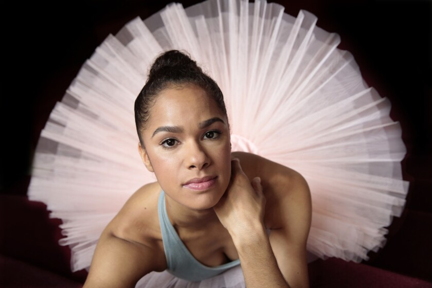 "Prima ballerina Misty Copeland will make history as the first African American woman to dance the lead role of Swanilda in the famous ballet ""Coppelia."" She will also be a guest judge on ""So You Think You Can Dance."""