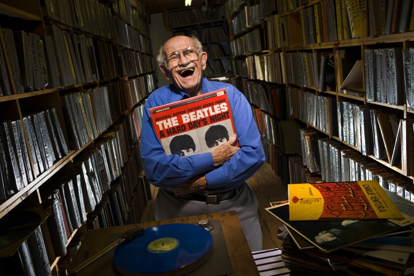 """Rare-record dealer Murray Gershenz, known as """"Music Man Murray,"""" has died at 91."""