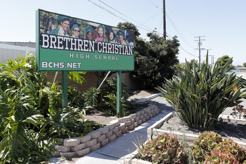 Brethren Christian High School is closing down after 73 years.