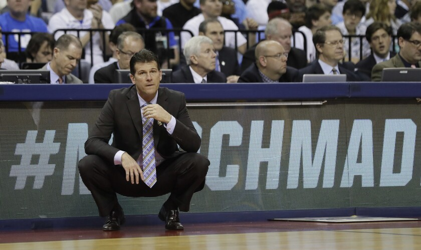 UCLA head coach Steve Alford and the Bruins are ranked 21st in the AP preseason poll.