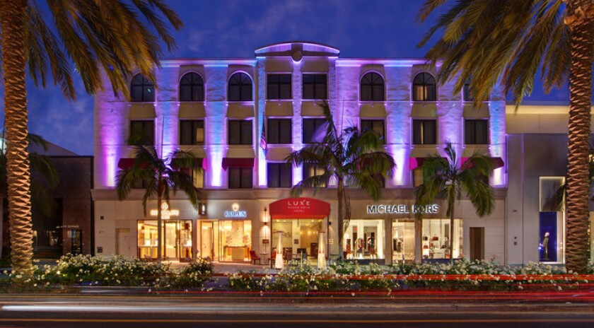 The Luxe Rodeo Drive hotel