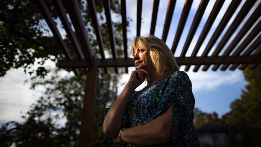 SAN GABRIEL, CA - NOVEMBER 15, 2018: Childbirth instructor Kathy Killebrew, who has taught more than