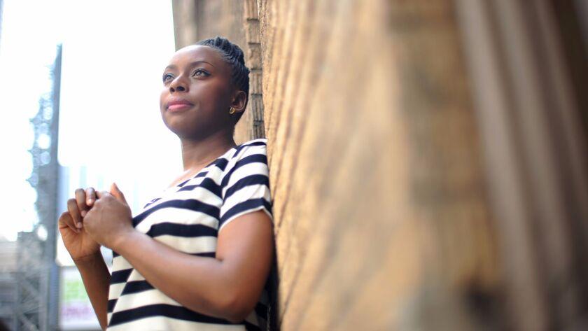 Author Chimamanda Ngozi Adichie