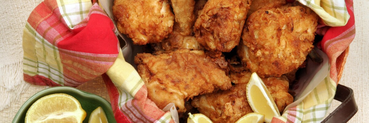 Fried chicken: Nine great recipes for crunchy goodness