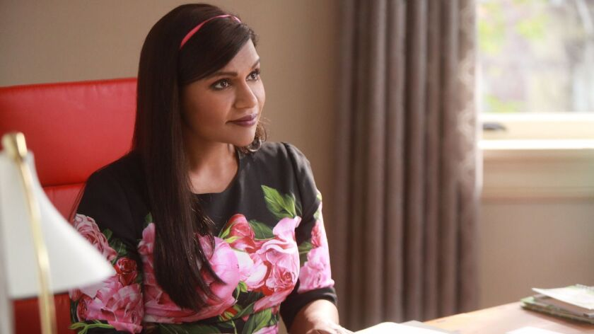 """Mindy Kaling as Dr. Mindy Lahiri in a scene from the final season of """"The Mindy Project."""""""