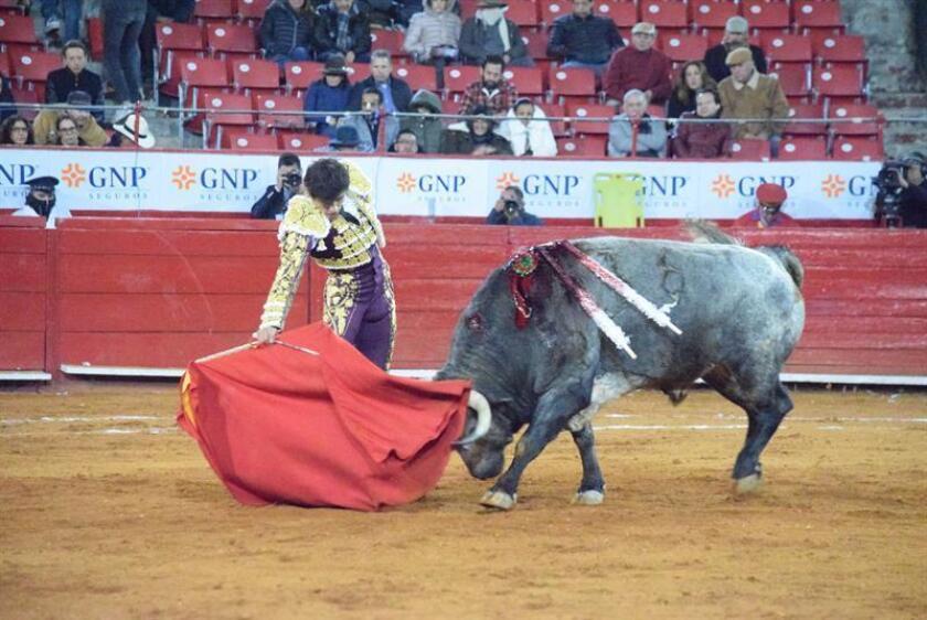 En la imagen el mexicano Luis David Adame. EFE/Archivo