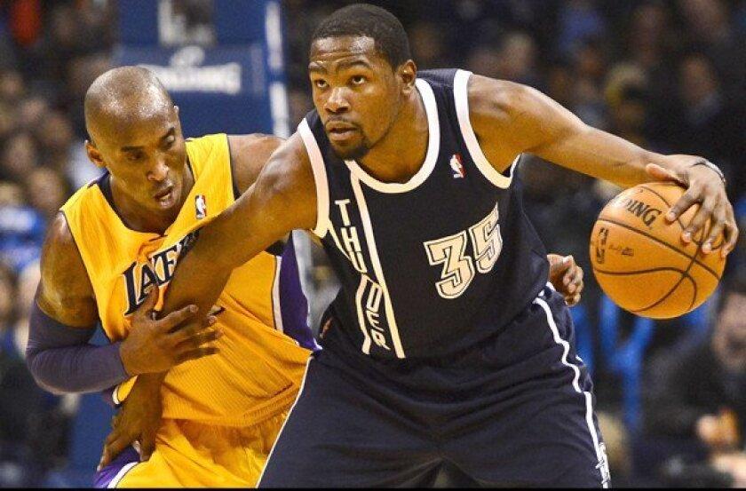 Kobe Bryant, Kevin Durant