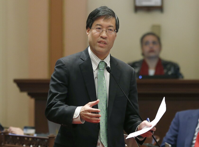 California Senator Assaulted