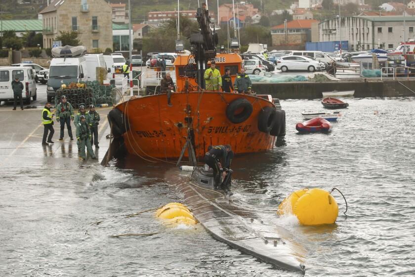 Spain Cocaine Submarine
