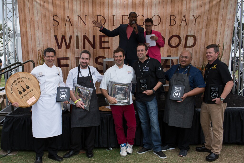 The San Diego Bay Wine + Food Festival showcased the best wines and gourmet foods at the Lexus Grand Tasting on Saturday, Nov. 19, 2016.