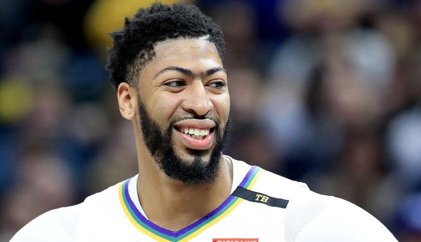 FILE: Pelicans Trade Anthony Davis To The Lakers