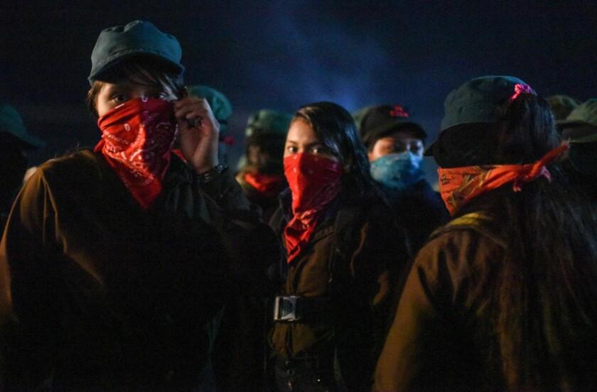 TOPSHOT-MEXICO-POLITICS-EZLN-ANNIVERSARY