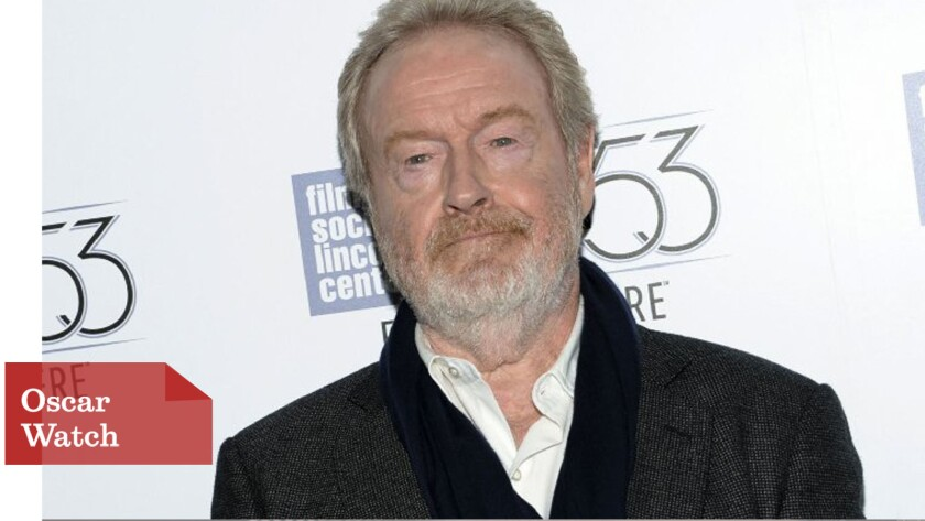"""Will Ridley Scott win his first Oscar this year for directing """"The Martian""""?"""