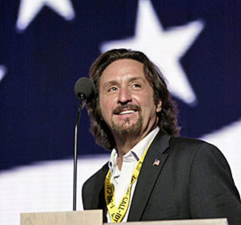 Ron Silver spoke at the 2004 Republican convention in New York.