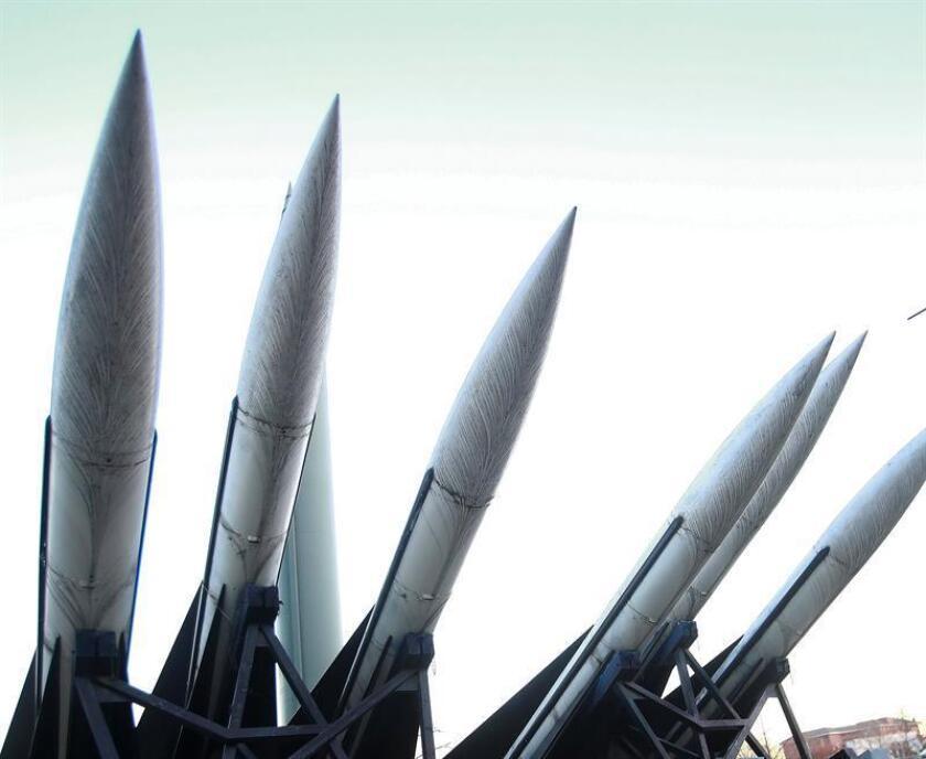 Vista de unos misiles de corto alcance. EFE/Archivo