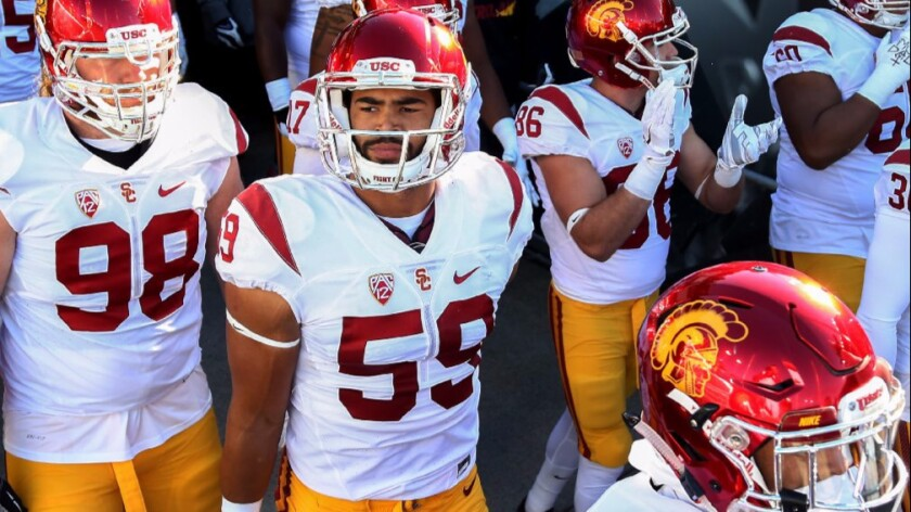 Second USC linebacker involved in sexual assault allegations