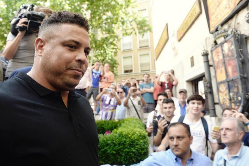 El exfutbolista Ronaldo Nazario de Lima. EFE/Archivo