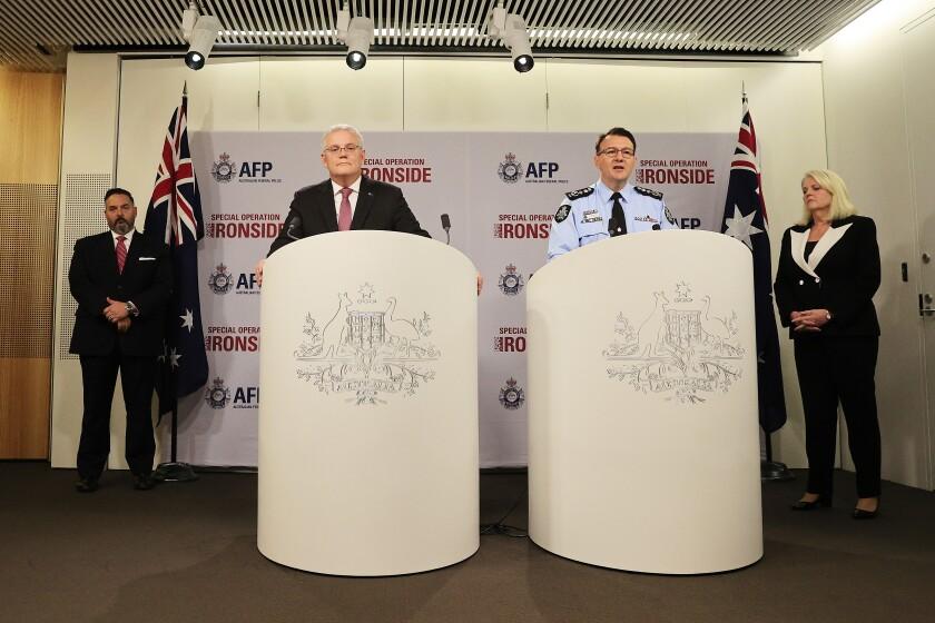 Australia's Operation Ironside